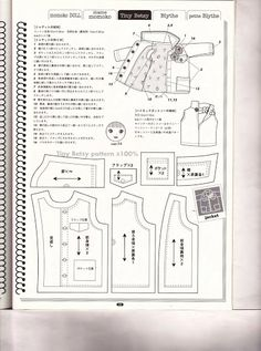 Doll Coordinate Recipe 1 - Diana Gil - Picasa Web Albums