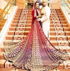 Latest Wedding Maxis Long Tail Dresses Designs Collection consists of designer bridal long tail dresses, gowns, maxi designs & styles for brides! Desi Bride, Desi Wedding, Wedding Bride, Wedding Ideas, Wedding Beauty, Wedding Designs, Pakistani Wedding Dresses, Indian Dresses, Pakistan Bride