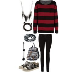 Stay With Me; You Me At Six, created by priceless-and-dashing-fo-rev-er on Polyvore