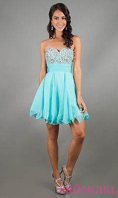 Short Prom Dress Style: AL-3558 Detail Image 1