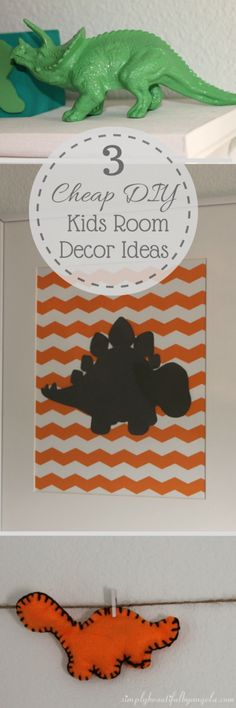 Simply Beautiful by Angela: 3 Cheap DIY Kids Room Decor Ideas