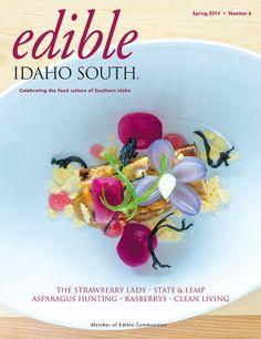 Edible Idaho South (Spring 2014) | via Edible Feast #ediblecommunities #ediblecovers