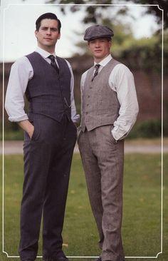 Thomas and Jimmy. #DowntonAbbey #Season4