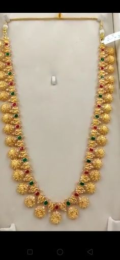 Jewellery Designs, Necklace Designs, Wedding Saree Blouse, Gold Jewelry, Pearl Necklace, Fashion Jewelry, Jewels, Chain, String Of Pearls