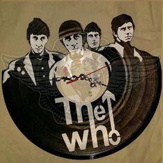 25,50 € Horloge vinyle décoration the who