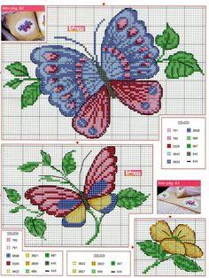 (129) Made in minhas mãos - gráficos ponto cruz e outros bordados