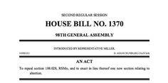 Mid-Missouri lawmakers prefile bills: Right-to-work legislation among them | News Tribune