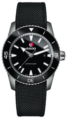 Rado Watch HyperChrome Captain Cook #add-content #bezel-fixed #bracelet-strap-synthetic #brand-rado #case-material-titanium #case-width-45mm #date-yes #delivery-timescale-call-us #dial-colour-black #discount-code-allow #gender-mens #luxury #movement-automatic #new-product-yes #official-stockist-for-rado-watches #packaging-rado-watch-packaging #style-dress #subcat-hyperchrome #supplier-model-no-r32501156 #warranty-rado-official-2-year-guarantee #water-resistant-200m