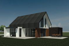 Nieuwbouw van een moderne vrijstaande woning in Afferden al-architectuur