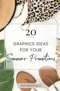 20 Graphics Ideas for your Summer Promotions — Haute Stock Photoshop For Photographers, Photoshop Photography, Photoshop Actions, Photography Tips, Identity, Branding, Social Media Graphics, Blogging For Beginners, Make Money Blogging