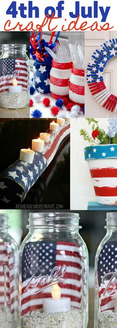 Farmhouse and Rustic 4th of July Crafts and Decorations - The Essential Baker