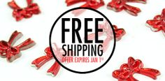 FREE SHIPPING UNTIL JAN 1st! Get quality  holiday crafts and ribbons now! www.maplecraftinc.com