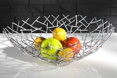 In this article, great fruit bowl designs are waiting for you. Fine household goods that you use in your kitchen. Both very useful as well as decorative fruit bowl.