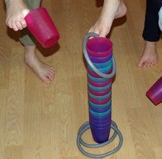 Fußgymnastik und Barfußturnen