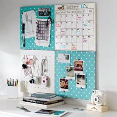 Home Office Organization Bulletin Board