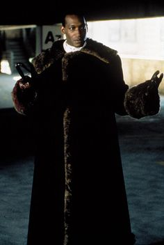 Tony Todd aka Candyman for the villain henchman on Dwayne Johnson's team. He's appeared in the Rock with Sean Connery, Nicolas Cage and Ed Harris.