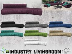 Part of the *Industry Series*  Found in TSR Category 'Sims 4 Sofas & Recliners'