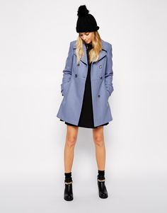 ASOS Coat in 60s Skater