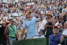 Antonio Banderas. The actor loves tennis too