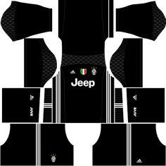 Juventus 2019-2020 Kits & Logo Dream League Soccer Juventus Team, Juventus Soccer, Soccer Kits, Football Kits, Real Madrid Home Kit, Liga Soccer, Jeep, Soccer League, Home And Away