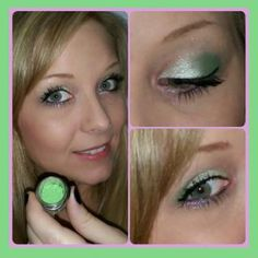 Gorgeous green eye shadow!  Moodstruck Mineral Pigment in Empowered