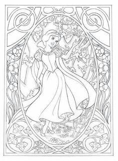 Jennifer Gwynne Oliver Illustration – Product design Make your world more colorful with free printable coloring pages from italks. Our free coloring pages for adults and kids. Disney Coloring Pages, Coloring Book Pages, Printable Coloring Pages, Free Coloring, Coloring Pages For Kids, Coloring Sheets, Snow White Coloring Pages, Colorful Drawings, Colorful Pictures