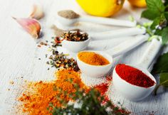 The Best Spices to Support Weight Loss.The secret to successful weight loss may be hiding in the spices that are commonly used in households each day food Healthy Food Swaps, Heart Healthy Recipes, Gourmet Recipes, Healthy Eating, Healthy Foods, Lactose Free Diet, Living A Healthy Life, Food Print, The Best