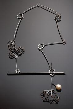 Liaung-Chung Yen : sterling, silver & pearl