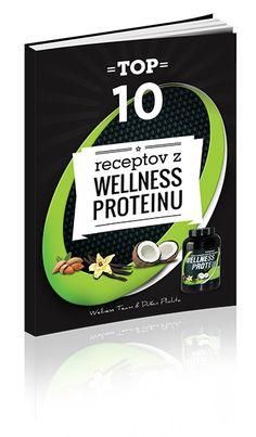"""Čo všetko sa dá vykúzliť z Wellness Proteínu, biologicky čistého proteínu a podľa mňa najkvalitnejšieho proteínu na našom trhu?   Verte, že skutočné lahôdky, ktoré sa vám budú rozplývať na jazyku :)  Wellness Team pre vás pripravil e-book  """"TOP 10 receptov z Wellness Proteinu""""  Viac na: http://www.vladozlatos.com/blog/clanky-o-zdravi/urobte-si-chutne-recepty-z-wellness-proteinu.html  http://www.vladozlatos.com/blog/clanky-o-zdravi/rychle-nepecene-kolace-z-wellness-proteinu.html"""