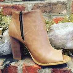 """This Bootie is a neutral wardrobe """"must have""""! $32.95  #madisonsbluebrick #downtownhotsprings #bootie #shoplocal #winterfashion #shoeenvy"""