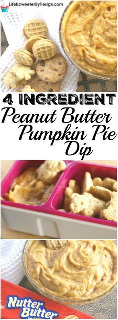 A great snack recipe for back-to-school and fall! This 4 Ingredient Peanut…#PackSnacksTheyLove #ad