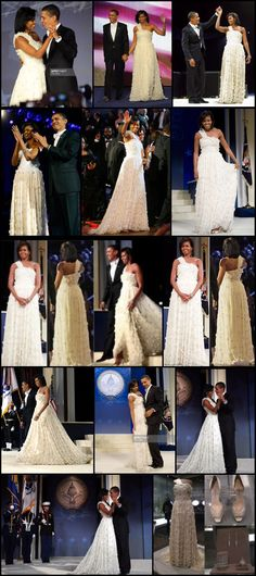 #1stDay #44th #President #POTUS Of The United States  Of America #CommanderInChief #BarackObama #FirstLady #FLOTUS Of The United States  Of America #MichelleObama #First #Inauguration #January2009 Michelle Obama's inaugural gown goes to #Smithsonian – #JasonWu 