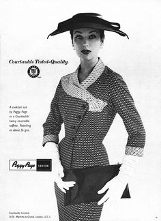 Peggy Page advertisement