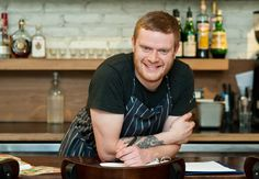 Matthew DeMille, currently chef de cuisine at Enoteca Sociale (but not for long!)