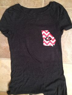 Chevron Georgia t-shirt