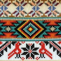 Most current Totally Free indian Beadwork Tips Carefully thread strain can certainly produce a enormous affect how your jewelry looks. No-one desires to spe Loom Bracelet Patterns, Bead Loom Bracelets, Bead Loom Patterns, Beading Patterns, Cross Stitch Patterns, Indian Beadwork, Native Beadwork, Native American Beadwork, Tapestry Crochet