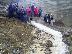 La presa de Rumi Corral en marcha.