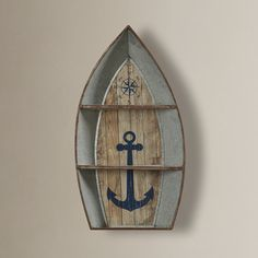 Beachcrest Home Nautical Metal Boat Shelves Wall Decor Wall Mirror With Shelf, Corner Wall Shelves, Wood Wall Shelf, Wood Shelves, Display Shelves, Shelving, Industrial Wall Shelves, Reclaimed Wood Floating Shelves, Floating Wall Shelves