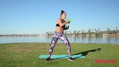 This beginner's fat blaster program has routines designed specifically for anyone who wants to get into shape, lose fat, get healthier and feel fabulous!