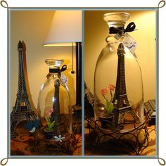 Eiffel under glass