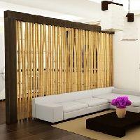 DIY Bamboo Room Divider