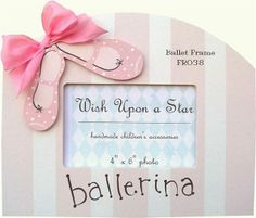 Ballet Shoes Picture Frame
