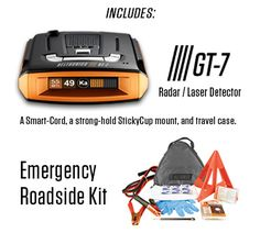 Win a Beltronics GT-7 Radar Detector and Complete Roadside Kit!  A $550 Value!