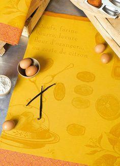 Torchon Le Jacquard Français - avec recette des madeleines (ma spécialité ;-)