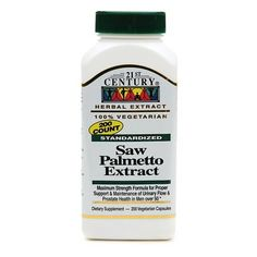 21st Century Saw Palmetto Extract - http://trolleytrends.com/health-fitness/21st-century-saw-palmetto-extract