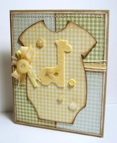 Baby Gingham by Miss Minx - Cards and Paper Crafts at Splitcoaststampers