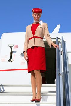 """Flight Attendant Life: Emirates Executive Cabin Crew member Helga Sigurdsson reveals some of the hair raising situations she has had to deal with as an air hostess: """"I've only had to restrain a passenger once. He tried to open a flight door, so I tripped him up, sat on him and shouted for help until one of my colleagues arrived!"""" What happened next? """"I had to tie him up for the rest of the flight, of course, but he was harmless really. It was his meds, combined with the alcohol."""""""