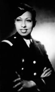"""Josephine Baker was recruited to work for the Deuxieme Bureau by Jacques Abtey.  Initially she merely used her access to international contacts and diplomats to gather information in France. Photos were pinned under Josephine's dress, and documents were recreated using invisible ink, we transcribed all fifty two pieces of information onto her sheet music. After crossing a treacherous border, Baker laughed and told Abtey, """"You see what a good cover I am!"""""""