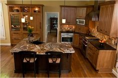 2 tier l shaped kitchen island. 4x8 kitchen island ideas #kitchenislandideas
