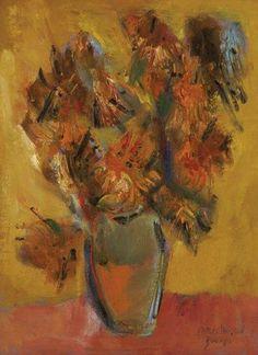 Firenze Galeria de Arte Carlos Bracher Girassóis - D'après Van Gogh - ost 1990 - 81 x 60